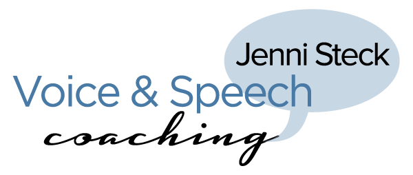 Jenni Steck Voice and Speech Services